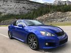2009 Lexus IS  2009 Lexus ISF 20k miles *Like New* V8 Ultra Sonic Blue IS-F