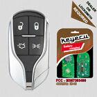 Remote Key Fob Light Button 433MHz for Maserati Ghibli Quattroporte - M3N7393490