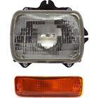 Headlight Kit For 1989-1995 Toyota Pickup Right 2pc