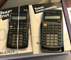 Set of 5 Financial Calculators w/ Manuals and Book by James Dalton GREAT COND