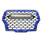 ModQuad Blue Grill W/ Led Light Bar For Polaris RZR XP 1000 Turbo RZR-FGLS-T-BL