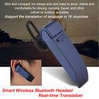 Smart Instant Voice Translator 16 Languages Wireless Bluetooth Headset Earphone