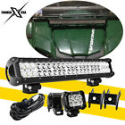 For Yamaha Rhino Viking VI YXZ 1000 2x18W LED Light bar 20'' 126W Combo Light