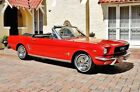 Ford Mustang Convertible with 77k Actual Miles 1966 Ford Mustang Convertible C Code, Power Steering, Automatic