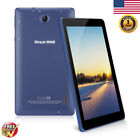 "Great Wall W710 7"" Android 8.1 Tablet Quad Core 8GB Dual Camera WIFI BT PC BLue"