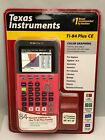 Texas Instruments TI 84 Plus CE Graphing coral BRAND NEW SEALED