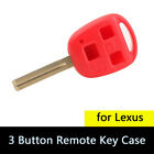 3 Button Remote Key Fob Case Shell Replacement for Lexus ES300 GS300 GS400 GS430