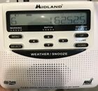 Midland WR-120 NOAA All Hazards Weather Public Alert Radio Storm Warning