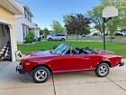 1976 Fiat 124 Spider  1976 Fiat Spider, Low Margers