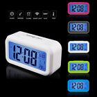 Digital Snooze LED Alarm Clock Backlight Time Calendar Temperature