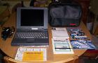 Vintage CANON INNOVA BOOK 360CD Laptop Windows 95 AMD 586-P75 CPU 133Mhz WORKS!!