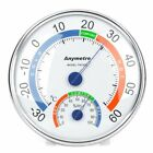 Thermometer Hygrometer Tester Weather Meter Indoor Outdoor Wall Window Office