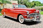 1949 DeSoto Custom Convertible Fully Restored Absolutely Stunning 1949 Convertible Fully Restored Absolutely Stunning