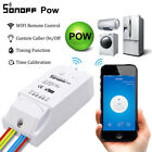 Snoff Pow 16A WiFi Wireless Smart Swtich Module Consumption Measurement US Stock