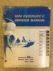 1974 EVINRUDE SERVICE MANUAL SPORTSTER 25 HP MODELS 25402 - 25403  25452 - 25453