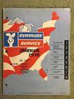 1976 EVINRUDE SERVICE MANUAL 40 HP OUTBOARD SHOP REPAIR MODEL 40604 05 40654 55