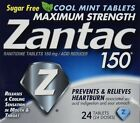 Zantac  150 Tablets Cool Mint, 24-Count Package (Pack of 2)