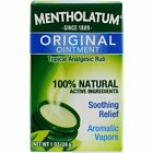 Mentholatum Original Ointment Soothing Relief, Aromatic Vapors - 1 oz ( Pack...