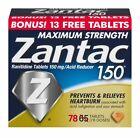 Zantac 150 Maximum Strength Tablets 65 ea (Pack of 8)