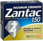 Zantac 150 Tablets - 50 ct, Pack of 4