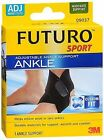 Futuro Sport Adjustable Ankle Support Adjust To Fit, Pack of 3