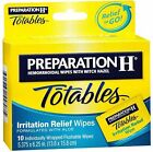 Preparation H Totables Irritation Relief Wipes 10 Each (Pack of 9)