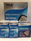 Trueplus Sterile Lancets 33 Gauge - 100 ct, Pack of 4