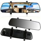 2.7 inch 1080P HD LCD DVR Car Camera Dash Cam Video Recorder Rear View Mirror .