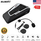 Bluetooth Intercom Communication Motorcycle Interphone Headset 1200M 4 Rider US