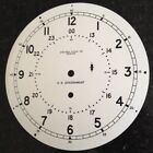 Chelsea Clock Co. Type B 8.5 Inch Engine Room U.S. GOVERNMENT 12/24 Hour Dial