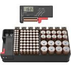 Battery Organizer Storage case with Tester can Hold 110 Battery Various Sizes