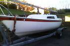 1973 Cal 21 sailboat and trailer