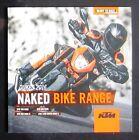 KTM DUKE 2016 RANGE - Motorcycle Owners Sales Brochure Book SUPER 390 690 1290