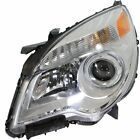 Halogen Headlight For 2010-2015 Chevrolet Equinox S Projector Type Left w/ Bulb