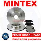 ee81 For Renault Trafic 1.6 14-18 Mintex Front Brake Discs Pads