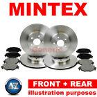 Mintex Front Rear Brake Discs And Pads Kit MDC1556 MDB2272 MDC1663 MDB2686
