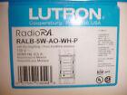 Lutron Radio RA RadioRA RALB-5W-AO-WH-P White color 1 engraving card -   New