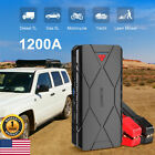 SUAOKI 1200A Portable Car Jump Starter Booster Battery Charger Power Bank 3 USB