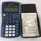 TEXAS INSTRUMENTS TI 34 II Explorer Plus Scientific Calculator Blue Solar