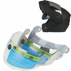 NEW Motorcycle Flip Up Helmet lens Full Face Windshield Sunscreen Anti-UV Goggle