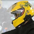 Bluetooth Safe Headset BT Helmet Intercom Riders Motorcycle Interphone Calling