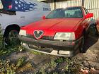 1991 Alfa Romeo 164S V6 5 Speed Transmission Rear Spoiler Skirts Sport Wheels