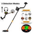 LCD Pinpoint Metal Detector High Sensitivity 2 Detection Modes Metal Finder US
