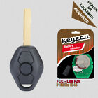 Rechargeable Battery Remote Key Fob 315MHz ID44 for BMW EWS 3 5 X Series - HU92