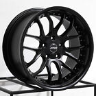 One 19x9.5 MRR GT7 5x114.3 40 Matte Black Wheel Rim
