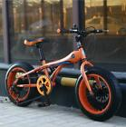 "Snow Bike MTB 16"" 7 21 24 27 speed double disc mountain Fat Bicycle Suspension"