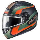 HJC 151-476 CS-R3 Dosta Snow Helmet 2X Semi Flat Blue/Orange