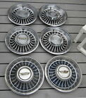1962 Cadillac Hubcaps Wheelcovers Hubcap Lot of 6