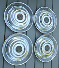 1954 -1955 Cadillac Hubcaps & Centers Original Wheelcover Set Rod Custom (4)