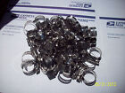 "50 PCS #10  ALL STAINLESS** BAND & HOUSING HOSE CLAMP,1/2""-1 1/16"",2ND,FREE SHIP"